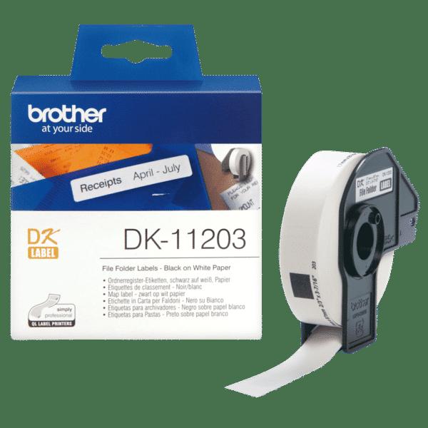 Ruban d'étiquettes Brother DK-11203