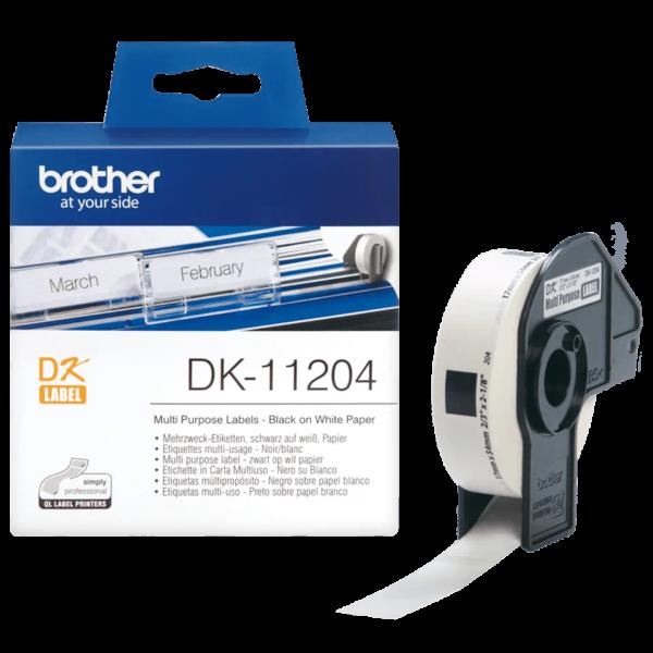 Ruban d'étiquettes Brother DK-11204