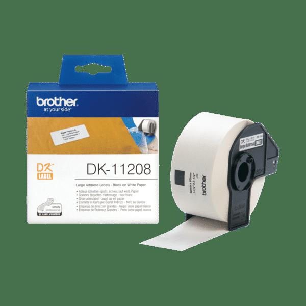 Ruban d'étiquettes Brother DK-11208