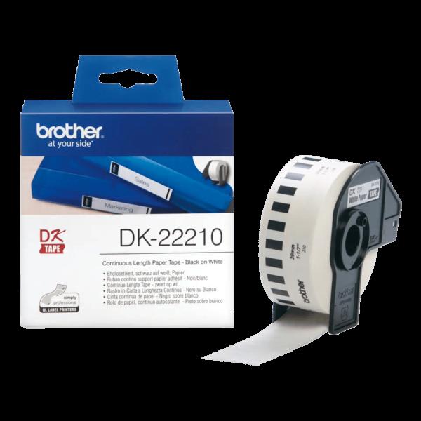 Ruban de papier continu Brother DK-2221