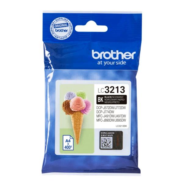 Cartouche d'encre Brother LC3213BK - Noir