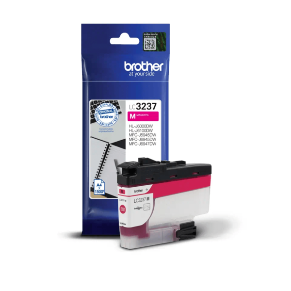 Cartouche d'encre Brother LC3237M - Magenta