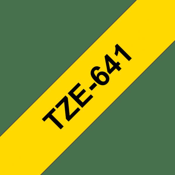 Cassette à ruban Brother TZe-641