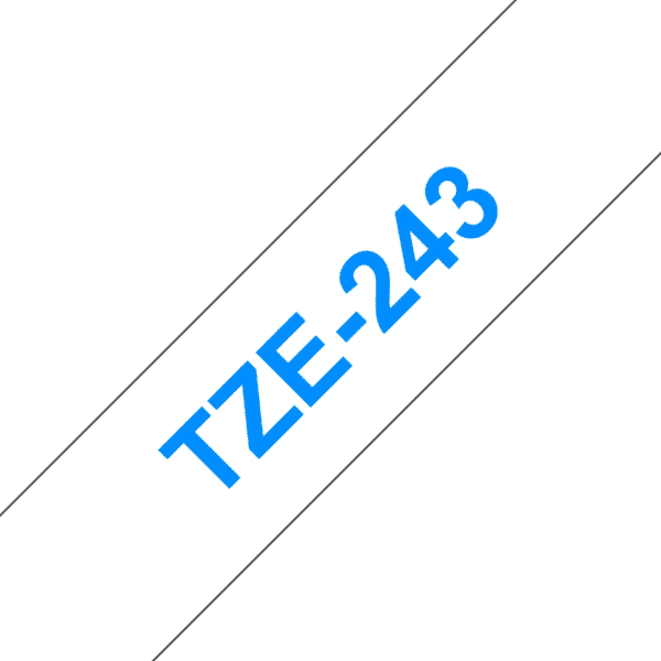 Cassette à ruban Brother TZe-243