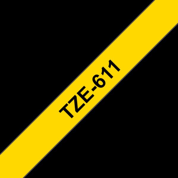 Cassette à ruban Brother TZe-611