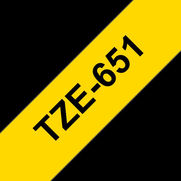 Cassette à ruban Brother TZe-651