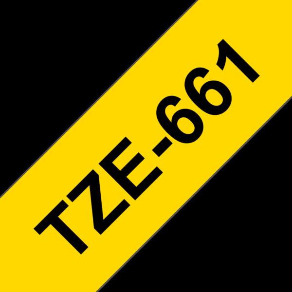 Cassette à ruban Brother TZe-661