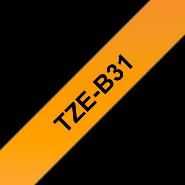 Cassette à ruban Fluo Brother TZe-B31