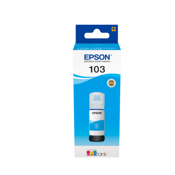 Bouteille Encre EPSON 103 - Cyan