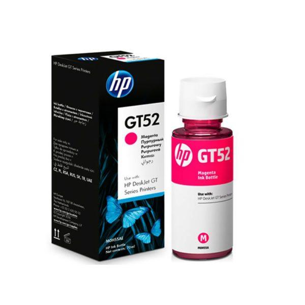 Bouteille d'encre HP GT52 - Magenta