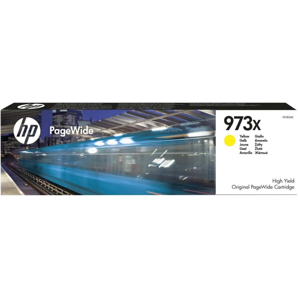Cartouche d'encre HP 973X - Jaune