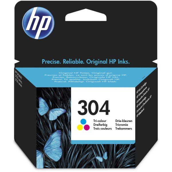 Cartouche d'encre HP 304 - 3 Couleurs