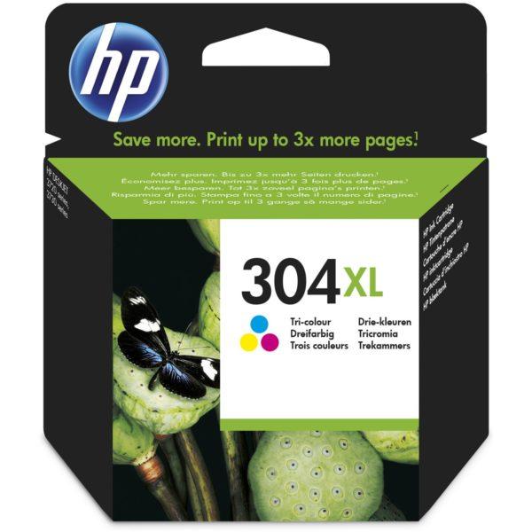Cartouche d'encre HP 304XL - 3 Couleurs
