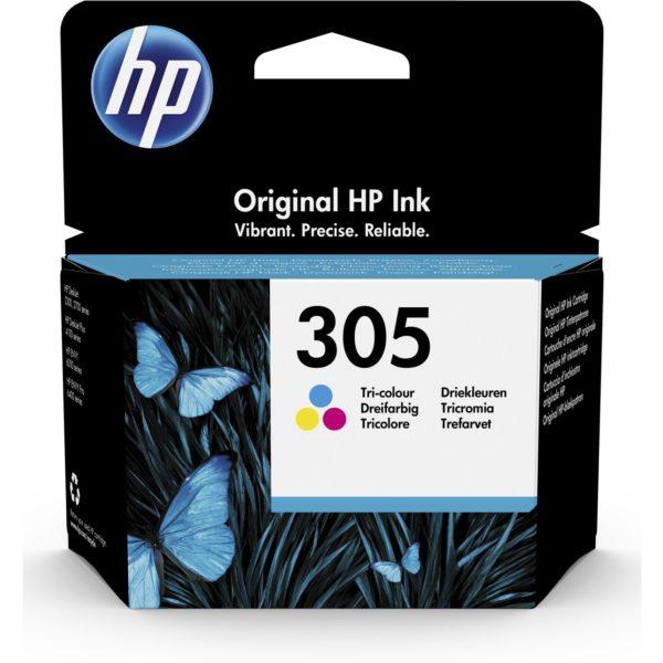 Cartouche d'encre HP 305 - 3 Couleurs