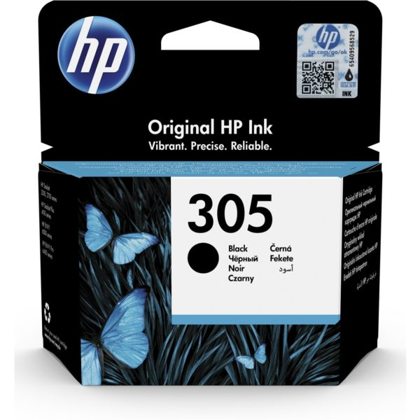 Cartouche d'encre HP 305 - Noir