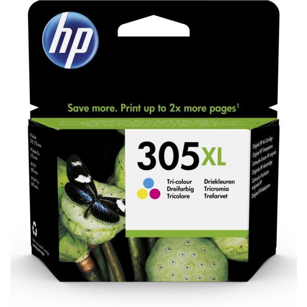 Cartouche d'encre HP 305XL - 3 Couleurs