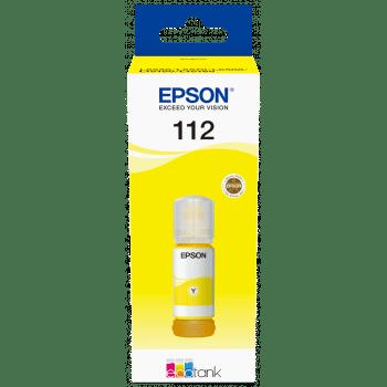 Bouteille Encre EPSON 112 - Jaune