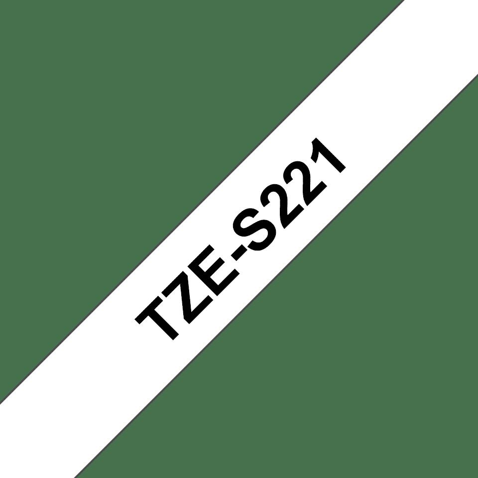 Cassette à ruban sécuritaire Brother TZe-S221 (9mm)